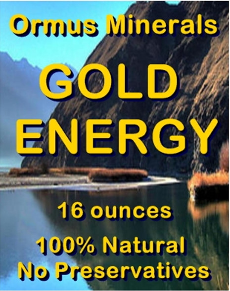 Ormus Minerals Gold ENERGY (L)