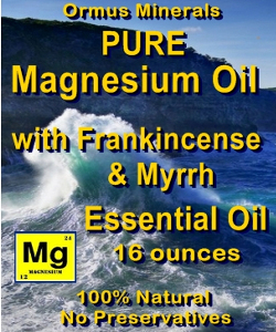 Ormus Minerals Pure Magnesium Oil with Himalayan Cedar Wood E O