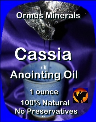 Ormus Minerals CASSIA Anointing Oil