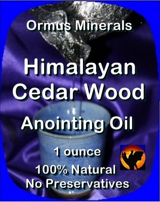 Ormus Minerals Anoing Oil with Himalayan Cedar Wood