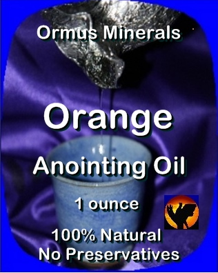 Ormus Minerals Anointing Oil with Orange